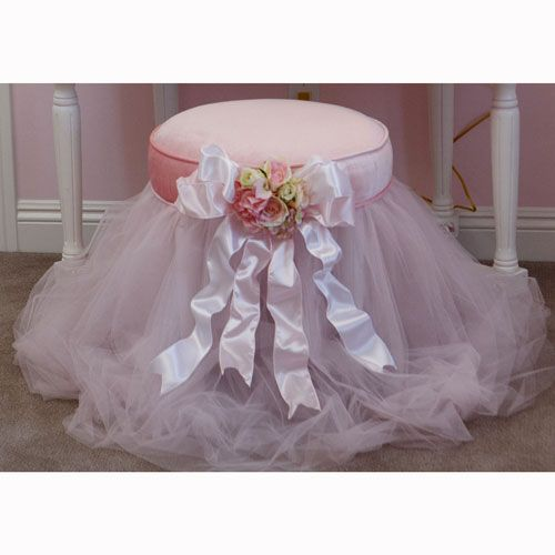 Petite Paris Vanity Stool and Luxury Kid Furnishings Including Armoires in Childs Furniture : New Childrens Furniture at PoshTots