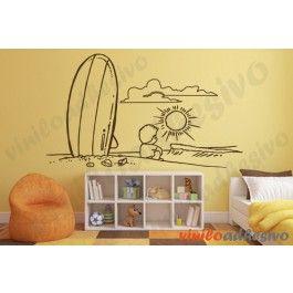 Vinilo surf - Vinilos decorativos infantiles