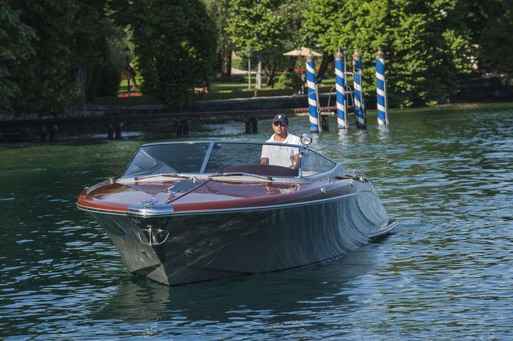 Riva Boat at Villa Feltrinelli. #lakegarda #villafeltrinelli #grandhotel #boat #exclusive