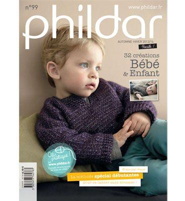 PHILDAR modeles tricot bébés