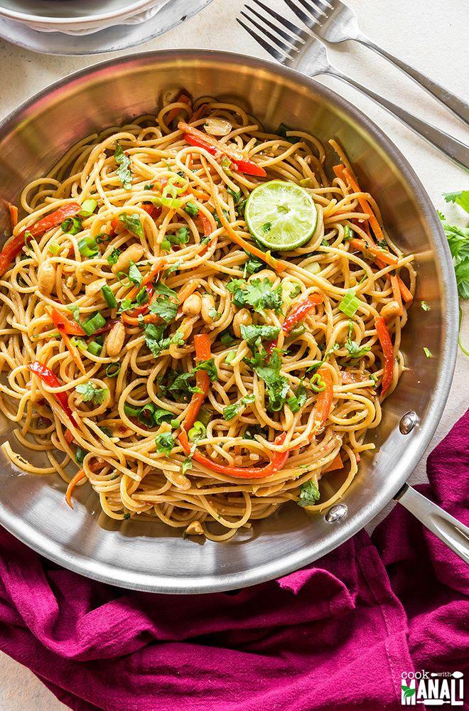 ideas about Thai Peanut Noodles Peanut