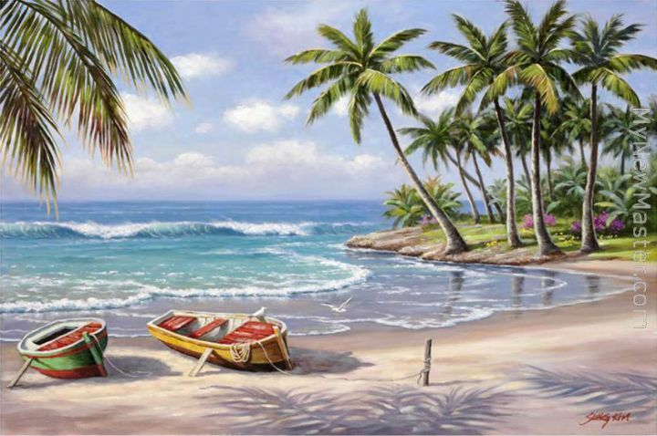 Sung Kim: Tropical Bay