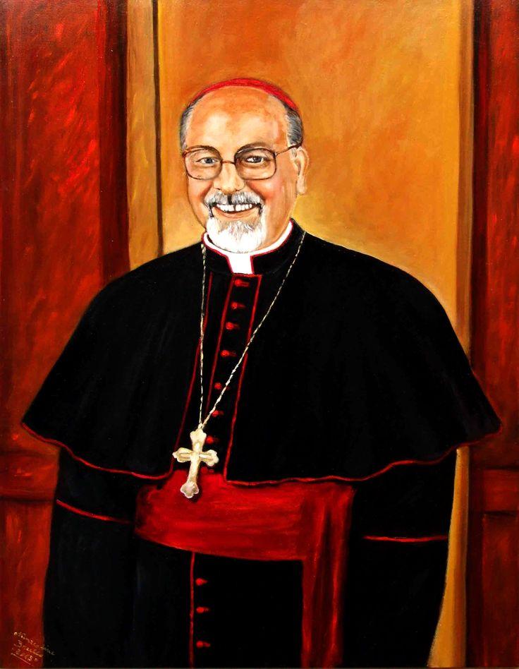 Vescovo di Ragusa Paolo Urso 60x80cm