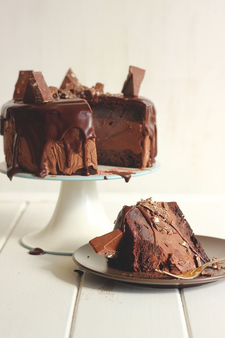 Toblerone Ice Cream Cake! | The Sugar Hit
