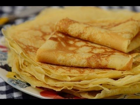 video recipe crepes