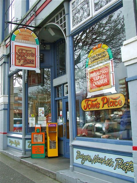 My all time favorite breakfast spot in Victoria, BC! John opened the doors in October 1984 and 29 years later they're still going strong. www.johnsplace.ca