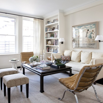casual living rooms white living