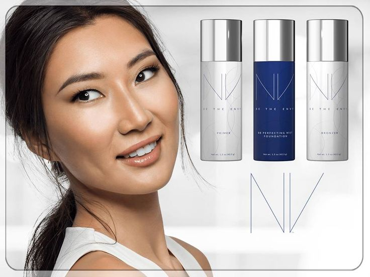 BEAUTY WITH BENEFITS Formulated with the Jeunesse-exclusive, youth-enhancing APT-200™, NV™ includes a skin-perfecting primer, foundation and bronzer that give you an enviable, professional airbrush finish. Want enviable results? Learn how! https://goo.gl/CuK9wH