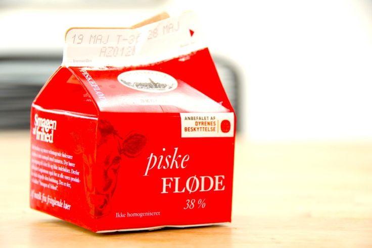 Fløderand laves af piskefløde, så der er ikke tale om slankemad. Men fløderanden smager fantastisk. Foto: Guffeliguf.dk.