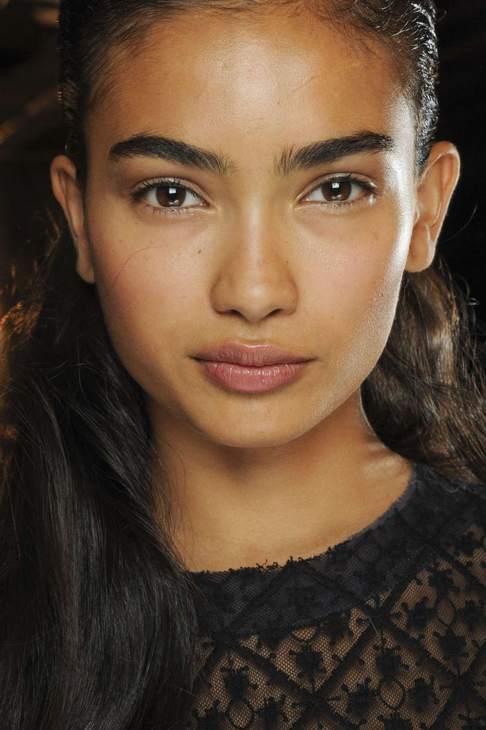 Kelly Gale, Indian  Australian model from Sweden // her eyebrows; mA perfect
