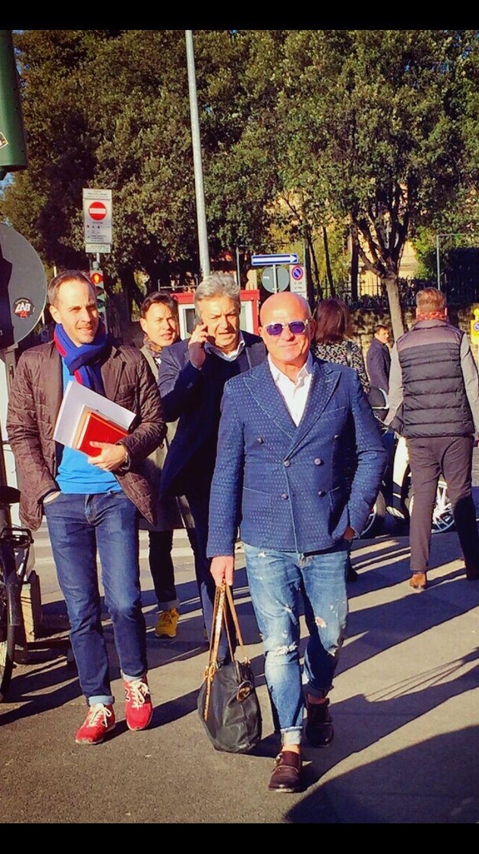 Mr. Antonio Metodo Pitti 89 street style