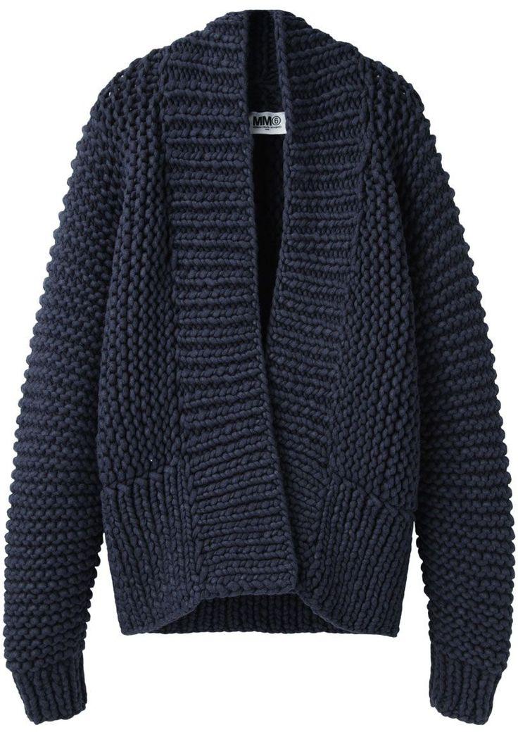Maison Martin Margiela Chunky Hand-Knit Cardigan
