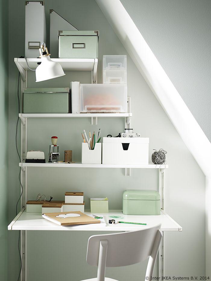 Ponekad veći dom nije ono što ti treba. S ALGOT serijom možeš potpuno iskoristiti prostor koji već imaš. www.IKEA.hr/ALGOT