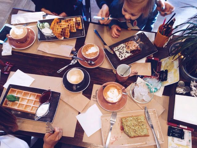 Breakfast with friends