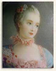 Miniature of Madame Pompadour