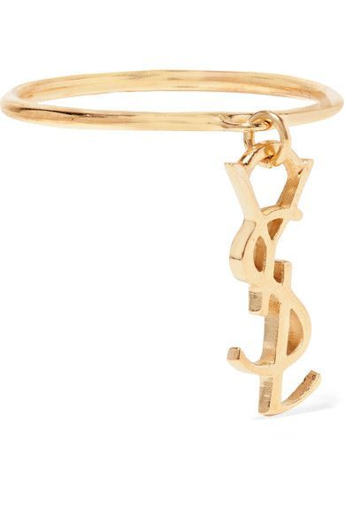 Saint Laurent - Gold-plated Ring - 7