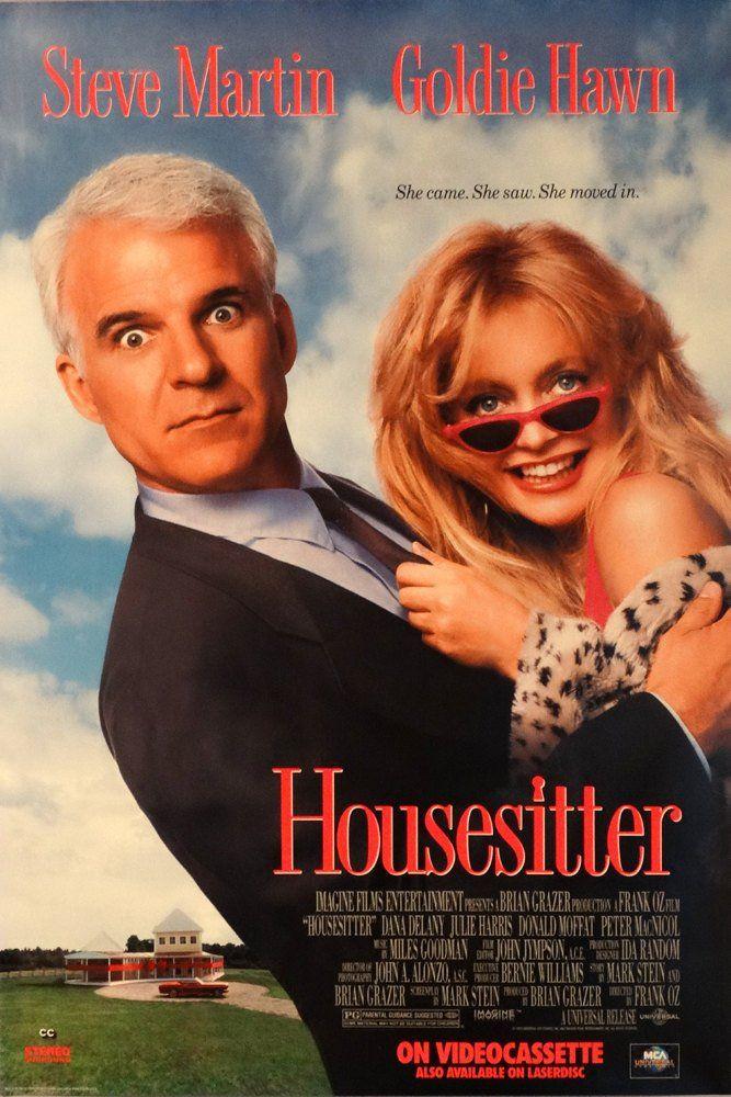 Housesitter.Original1992 U.S.26.75″x40″ Video Movie Poster.FREE SHIPPING.Romantic Comedy.Steve Marti…