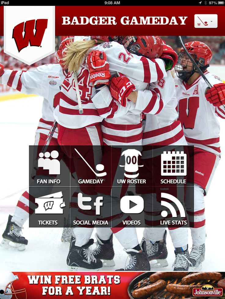 17 Best images about Badger Gameday App on Pinterest | Football, Camps and Hockey