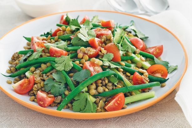 Lentil & Green Bean Salad Recipe - Taste.com.au