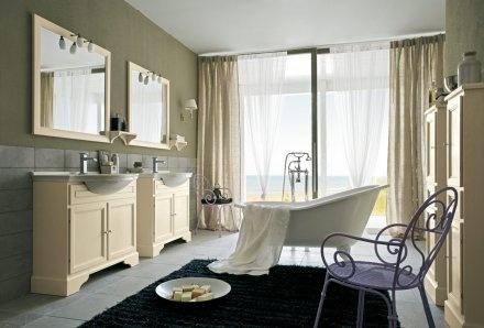 Cerasa-Paestum  Eine neue raffinierte, einladende und ruhige Dimension für die Privatsphäre - das ist Paestum. Elegante Formen, ausgewählte Materialien und erlesene Farben, die sich in jedem Badezimmer entfalten.