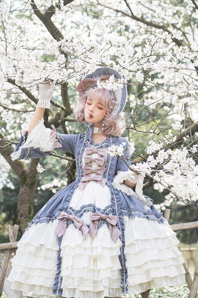 Hinana -Rococo- Vintage Classic Lolita OP Dress