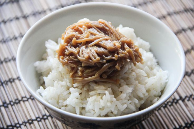 <p>Nametake is cooked softEnoki mushrooms (Enokitake) in Soy Sauce flavored sauce. This little salty dish is a convenient preserved food in a jar, like pickles in western homes, that you want to keep in the refrigerator all the time. It is a great accompaniment not only forSteamed Ricebut also a