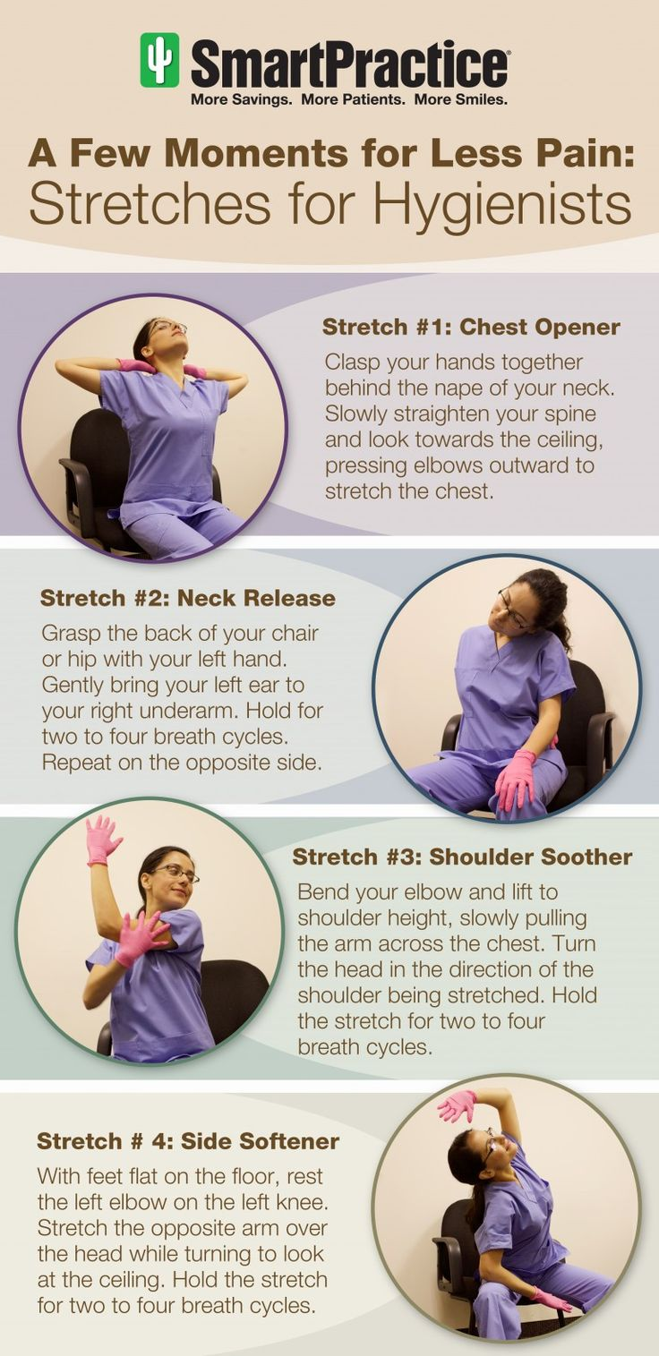 stretches for dental hygienists 833 best Dental
