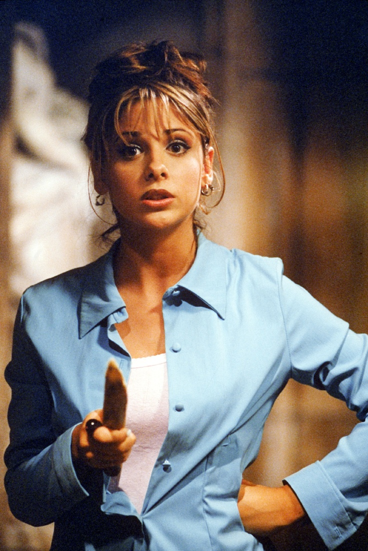Buffy The Vampire Slayer...loved this show, so wish they had made a movie after the show went off the air