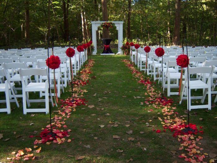 Herbst-Hochzeitsdeko im Freien - 40 traumhafte Ideen