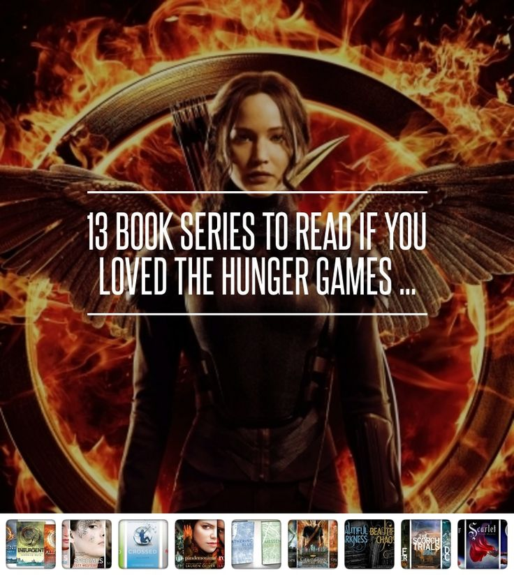 If you liked the Hunger Games, these 13 series are a must read. Just like the Hunger Games, these series are filled with adventure and action in a dystopian type of world. Though they may not be solely romance novels, these YAL titles all feature romances that add immense and enjoyable depth to the plot. - Sarah.