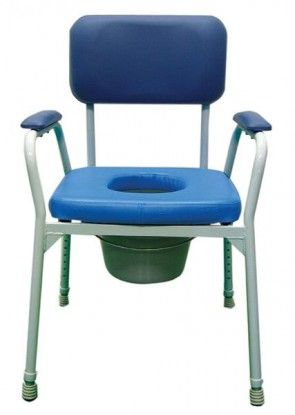 auscare bedside commode with pan aluminium auscare pdf