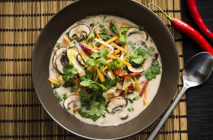Asiatisk grønnsaksuppe