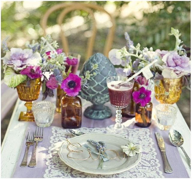 Coloured Glasswear: Wedding & Event  Ideas + Inspiration
