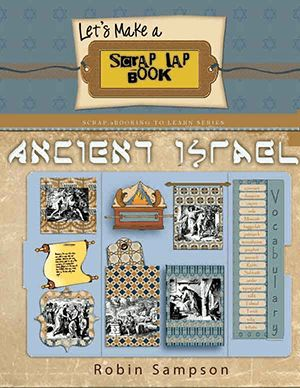 Make a Lapbook about Israel, any Bible time period, person, key events or for the Israel holidays with this kit in blues and browns.    We want to encourage you to make Bible lapbook so we Included a whopping 40 booklets and 36 clip art images in this kit!