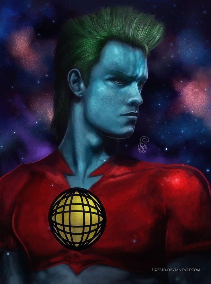 Capitan Planeta by *sixfrid