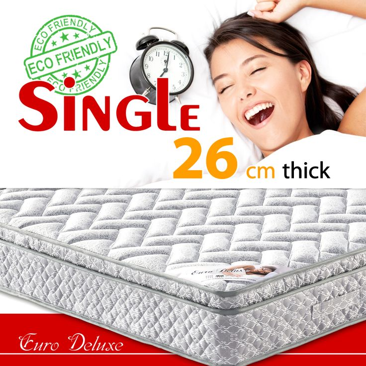 Looking for the Single  size euro top mattress? Check our $120.99 Euro Deluxe series mattress  https://www.ozehome.com.au/euro-deluxe-mattress-mb136-twinsingle-size