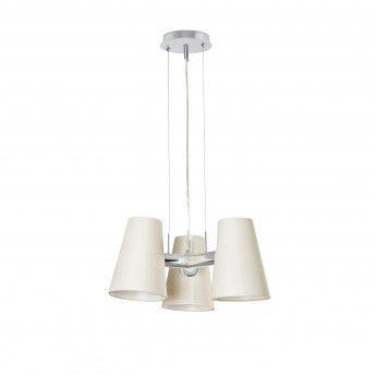 Suspension LUPE – 3x20W – Ø54cm – Faro  La suspension Lupe est un luminaire design parfait pour les pièces à vivre telles que la cuisine ou la salle à manger. Elle saura trouver sa place dans n'importe quel intérieur de style classique ou contemporain. Ses trois sources lumineuses s'assemblent pour vous prodiguer un éclairage général de qualité, empreint d'une lumière douce et agréable.