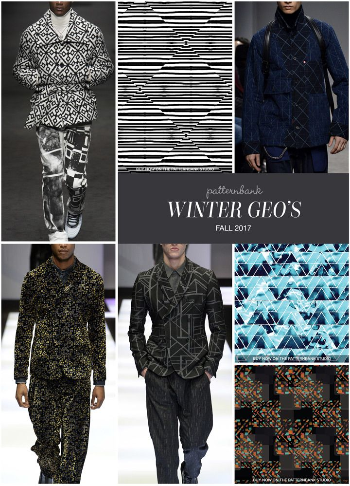 Menswear Autumn/Winter 2017 – Key Print and Pattern Highlights Part 1