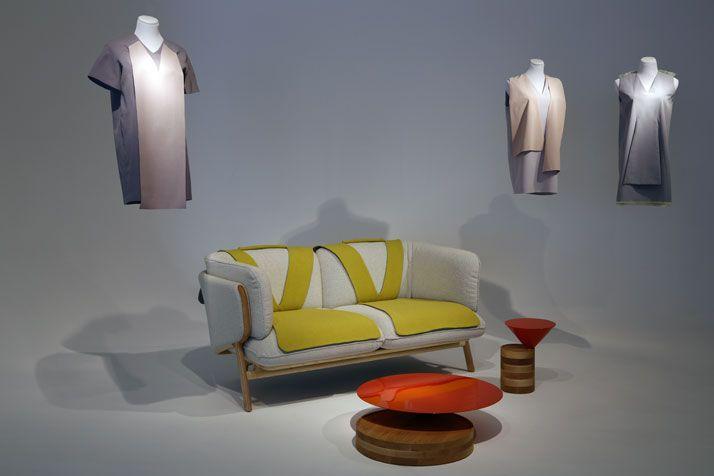 couch Yulia Yadryshnikova & Luca Nichetto: Fashion Meets Furniture at NYC's Design Week | Yatzer