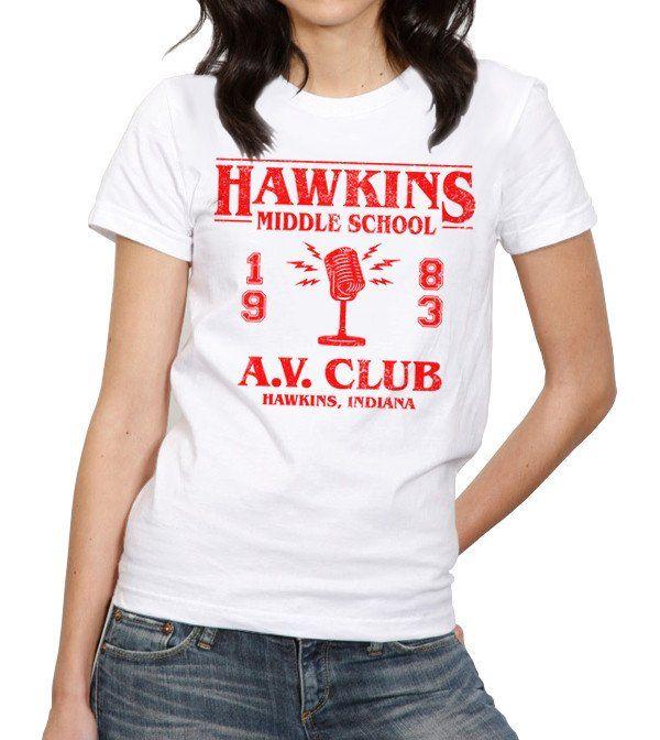 Hawkins Middle School A.V. Club T-Shirt