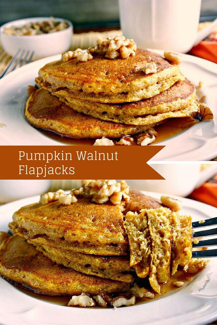 Pumpkin Walnut Flapjacks | Life, Love, and Good Food