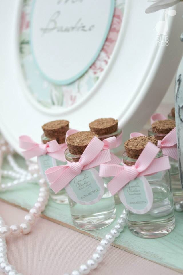 Holy water for First Communion gifts