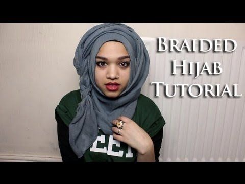 Braided Hijab Tutorial