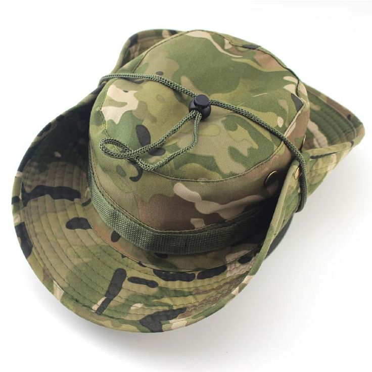 >> Click to Buy << Tactical Boonie Hat Military Men Women Outdoor Travel Camouflage Bucket Hat Army Training Mountaineering Army Train MHA041 #Affiliate