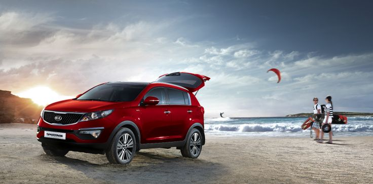 Pick a destination. Then let Sportage take you there.