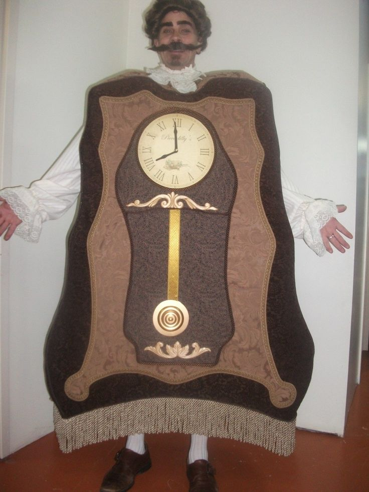 When I wanted to make a Cogsworth costume for Beauty and the Beast, I never realized how many steps it would take.  It is basically a sandwich board sign design with plastic cardboard placed between...