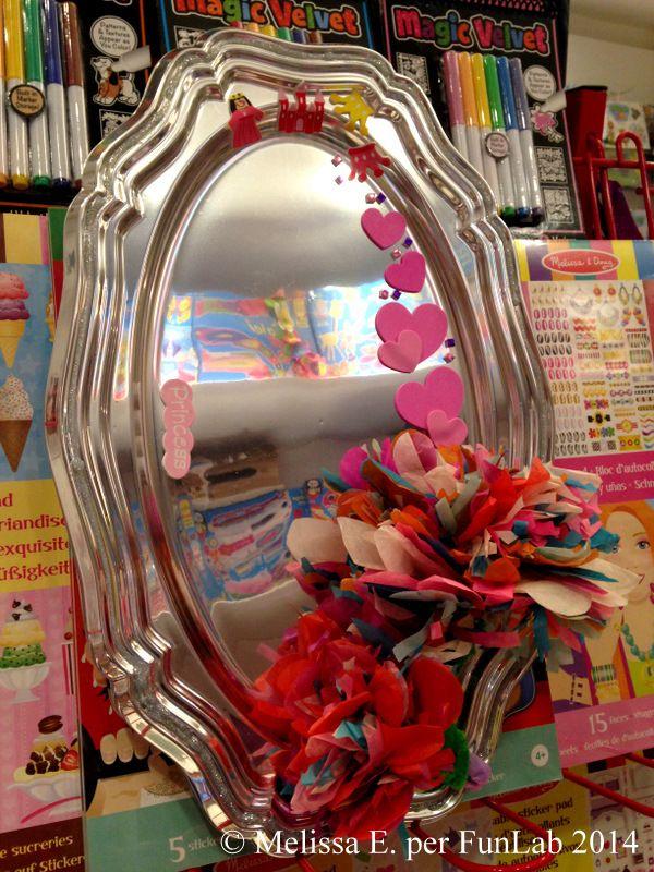 Lo specchio della principessa riciclato - DIY Princess mirror