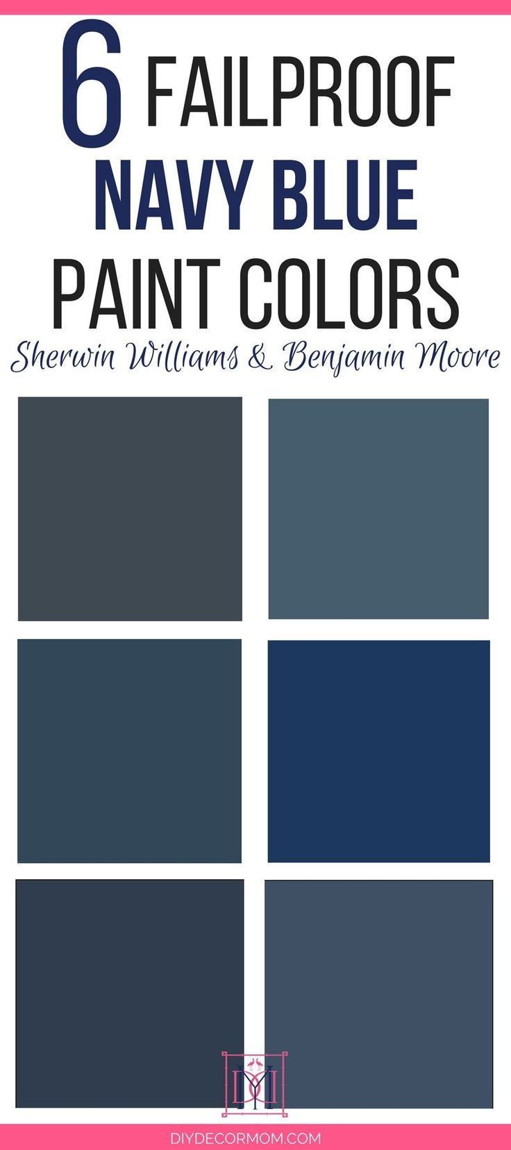 Looking For The Best Navy Paint Colors For Your Home