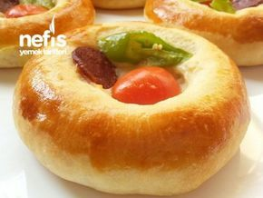 Yumuşacık Pizza Poğaça (Pastane Tarifi)