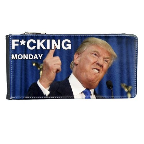 American President Trump Funny Fxxking Monday Ridiculous Angry White-collar Worker Meme Image Multi-Card Faux Leather Rectangle Wallet Card Purse #Purse #Trump #Wallet #Funny #Multi-FunctionPurse #Shitmonday #BlackPurse #Ridiculous #CardPurse #Angry #CardWallet #White-collarworker #Multi-Card #Meme #President #AmericanPresident